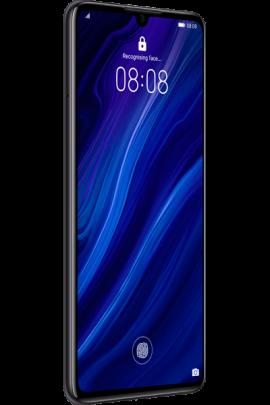 Huawei-P30-Elle_Black_Front-30_Left_Unlock.png