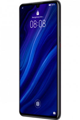 Huawei-P30-Elle_Black_Front-30_Right_Unlock.png
